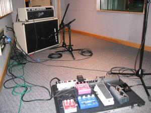eric's pedal board